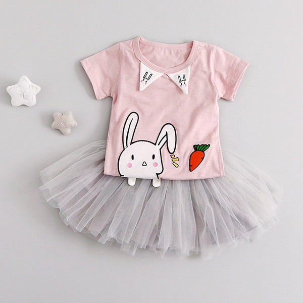 Hello Rabbit Tutu Dress