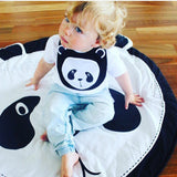 Panda Face Play Mat