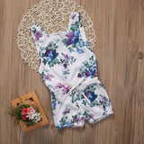 Floral One Piece Romper