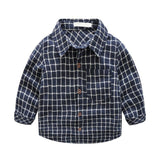 Boy Striped Long Sleeve Shirt