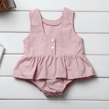 Pink Delicious Skirted Onesie