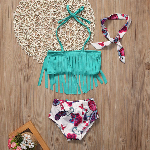 Tassel Swimming Bathing Suit