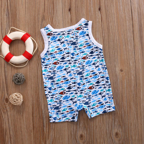 Ocean Friends Romper