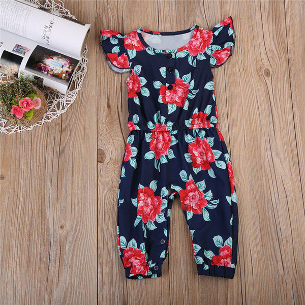 Full Of Flowers Romper