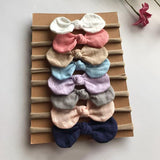 8 Pcs Cute Bow Headbands