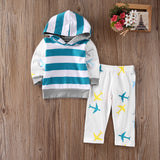 Jet Setter Hooded 2 Pcs Set