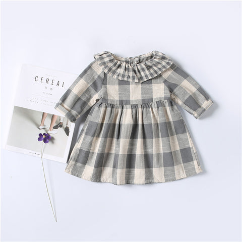 Autumn Plaid Country Dress