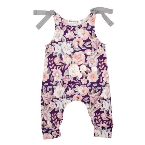 Yael With Flowers Romper