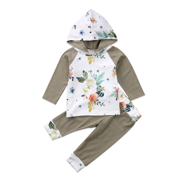 Zoe Floral Hoodie Outfit