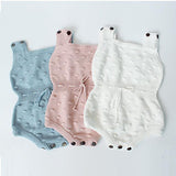 Hello Winter Knitted Romper