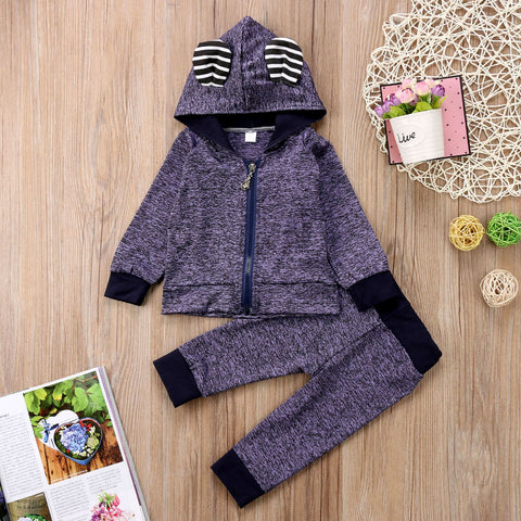 2 Pcs Winter Love Outfit