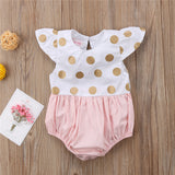 Gold Dots  Bodysuit