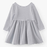 Basic Stripes Cotton Dress