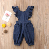 Andrea Denim Romper
