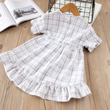 Lorna Short Sleeve Cotton  Dress