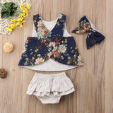 Denise Floral Summer Outfit