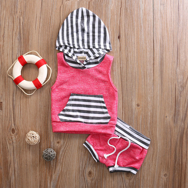 Summer Fun Hooded Outfit