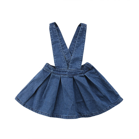Denim Overalls Dress