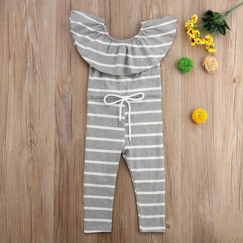 Sarita Striped Romper