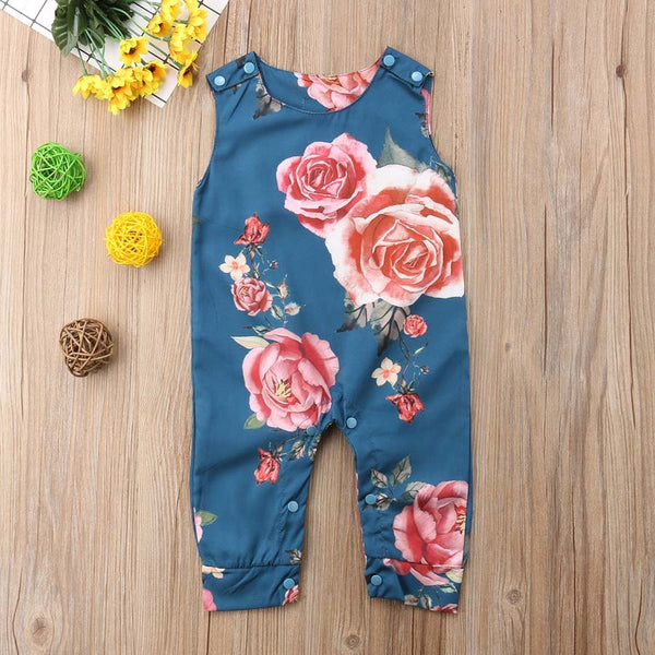 Tamara Flower Jumpsuit