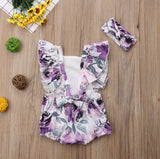Magalit  Romper And Headband