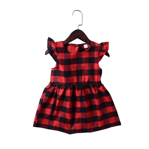 Plaid Maya Dress