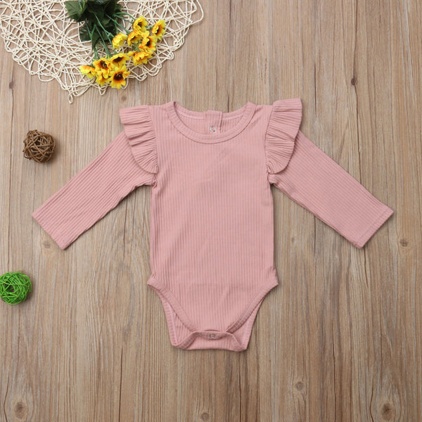 Pretty Long Sleeve Bodysuit