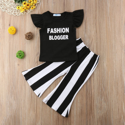 Fashion Blogger 2 Pcs Outfit