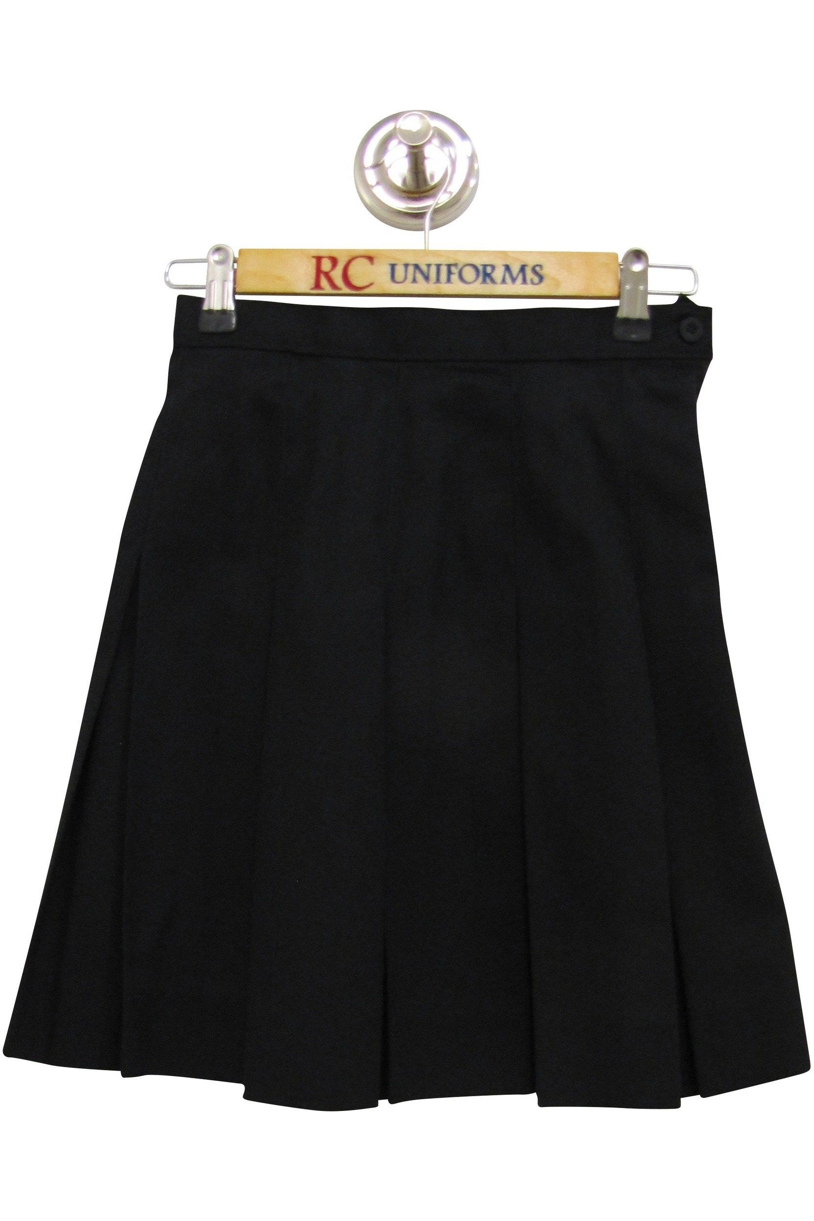 Black Box-Pleat Skirt - RC Uniforms