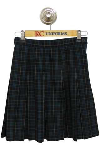 Plaid 192 Box-Pleat Skirt - RC Uniforms