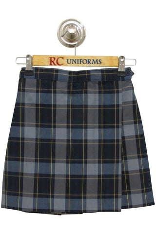 Plaid 57 Flap Skort - RC Uniforms