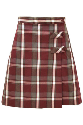 Plaid 54 Tab Culotte - RC Uniforms