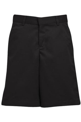 Boys Premium Label Black Long Shorts - RC Uniforms