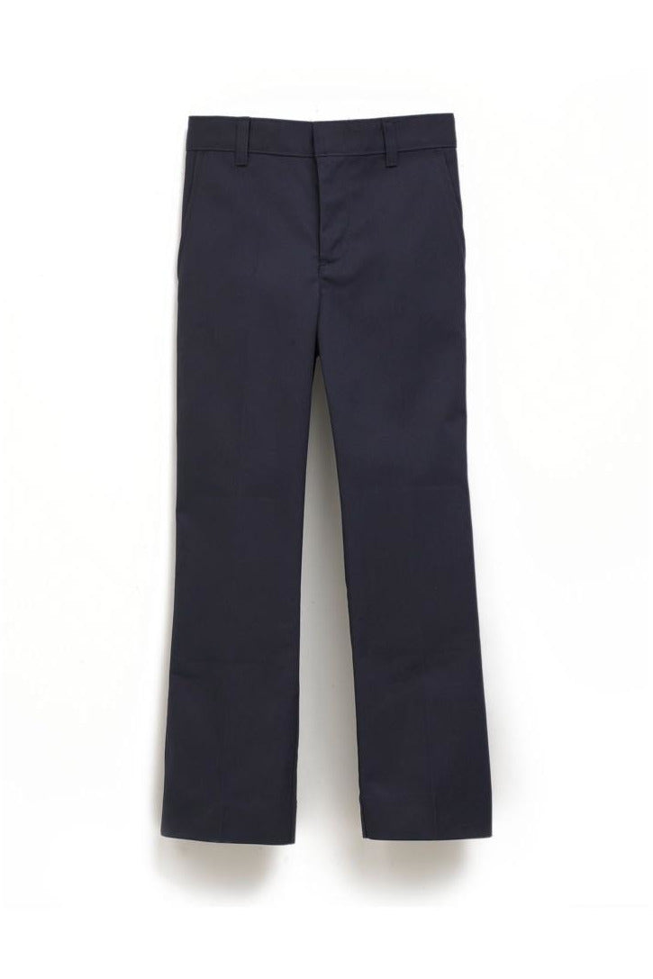 Boys Premium Label Navy Flat Front Pants - RC Uniforms