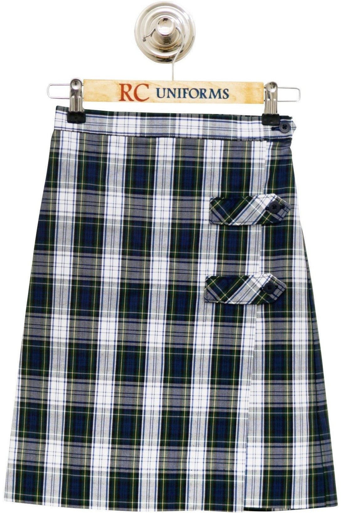 Plaid 80 Tab Culotte - RC Uniforms