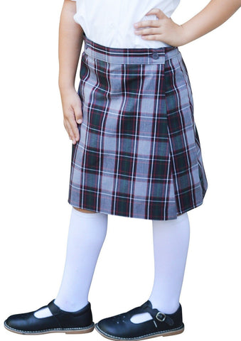 Plaid 52 Flap Skort - RC Uniforms