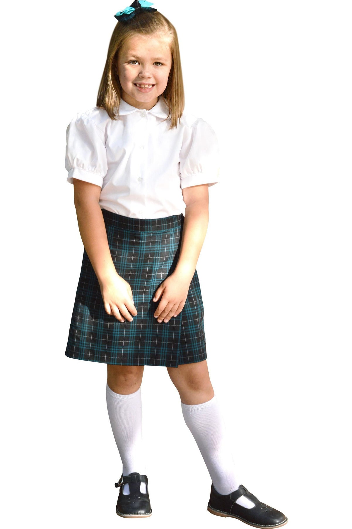 Plaid 192 Flap Skort - RC Uniforms