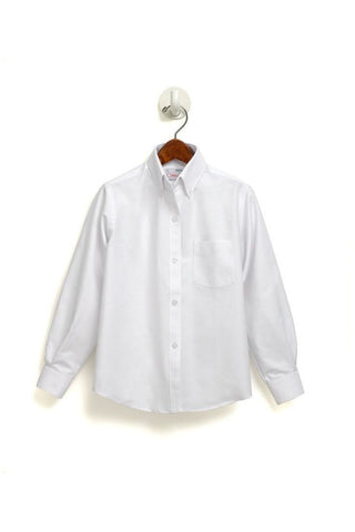 Mens Long Sleeve Oxford Shirt - RC Uniforms
