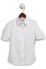 Girls' Short Sleeve Oxford Shirt - RC Uniforms