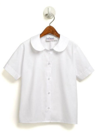 Short Sleeve Peter Pan Blouse - RC Uniforms