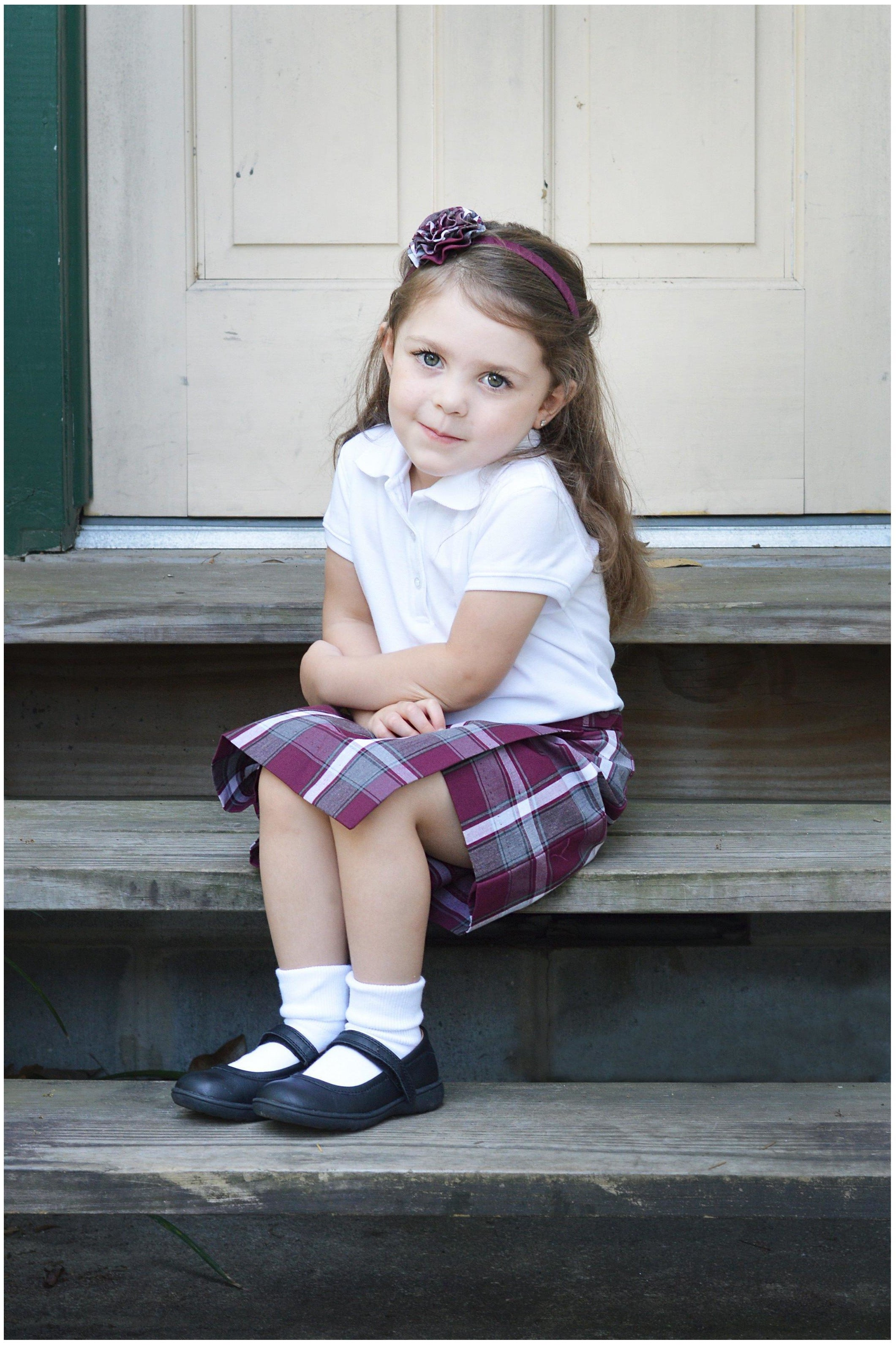 Plaid 54 Flap Skort - RC Uniforms