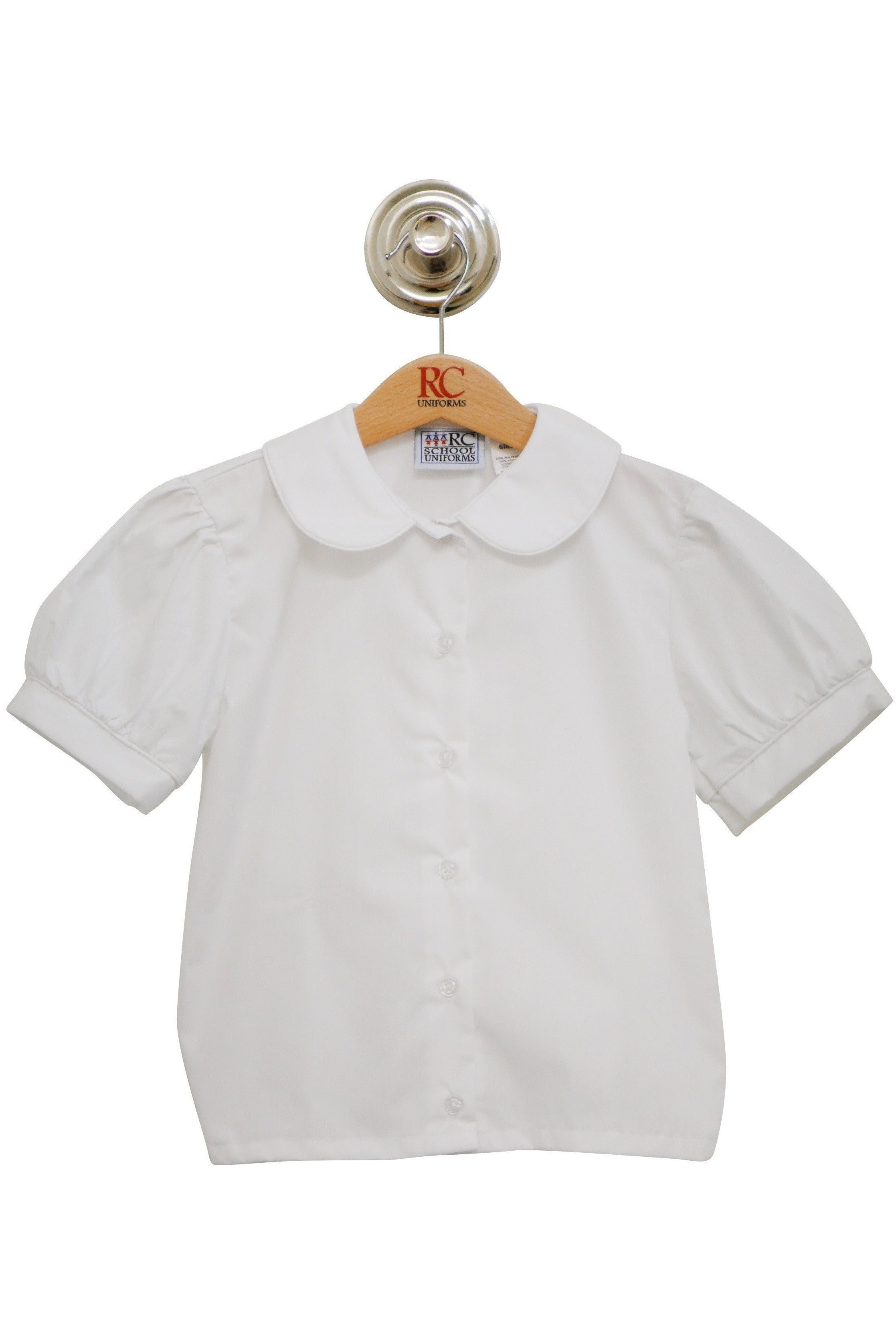 Puff Sleeve Peter Pan Blouse - RC Uniforms