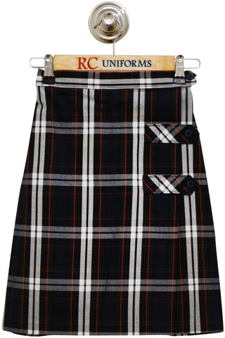 Plaid 60 Tab Culotte - RC Uniforms