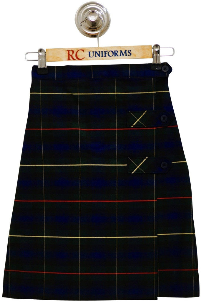 Plaid 55 Tab Culotte - RC Uniforms
