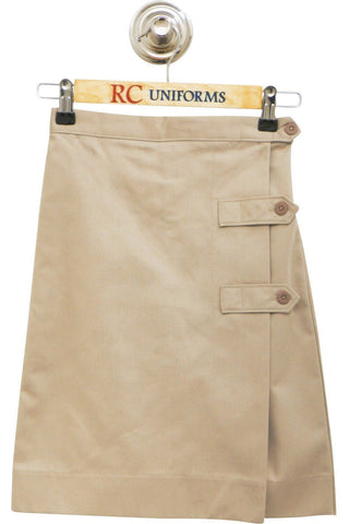 Khaki Tab Culotte - RC Uniforms