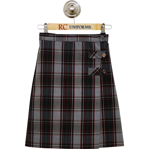 Plaid 52 Tab Culotte - RC Uniforms