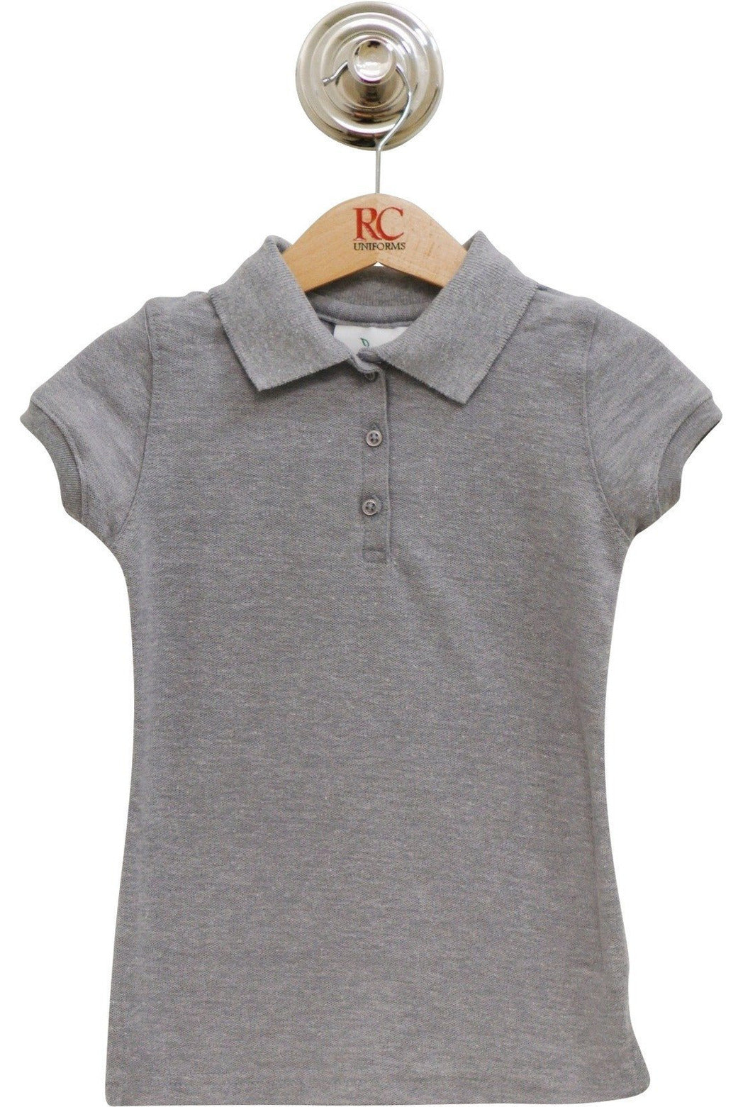 Girls Cap Sleeve Polo Shirt - RC Uniforms