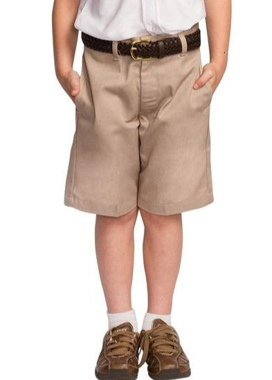 Boys Flat Front Shorts - RC Uniforms