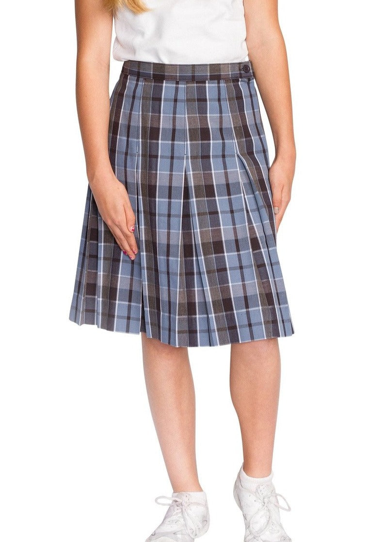 Plaid 59 Box Pleat Skirt - RC Uniforms