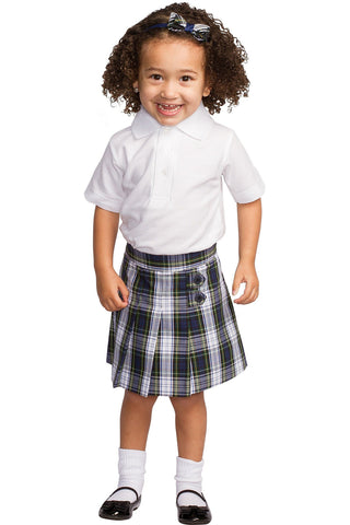 Plaid 161 Tab Skort - RC Uniforms